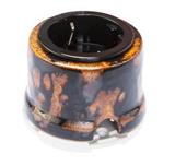 Розетка с заземлением и шторками Экзотик Salvador OP12EX для внутреннего монтажа