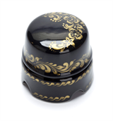 Распаячная коробка Черная с золотом Salvador