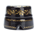 Распаячная коробка большая Черная с золотом Salvador