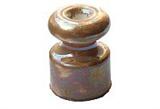 Изолятор керамический Перламутровый Коричневый Villaris