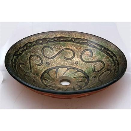 Стеклянная раковина Bronze de Luxe 12019 - фото 10353