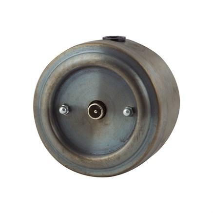 Розетка ТВ ретро,патинированная, VINTAGE Metal М1-30-27 - фото 10917