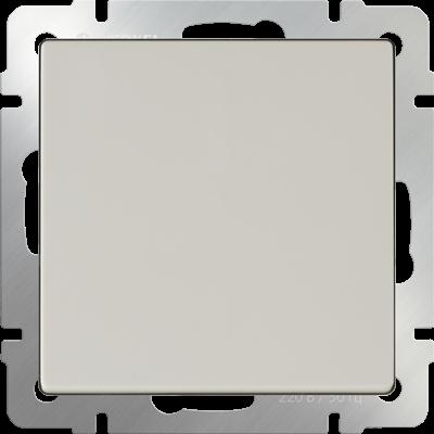 Выключатель одноклавишный (слоновая кость) WL03-SW-1G-ivory - фото 11319