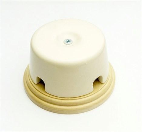 Коробка распределительная малая  Interior Elc. на подложке (слоновая кость)