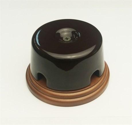 Коробка распределительная малая Interior Elc. на подложке (коричневая) - фото 11493
