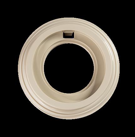 Рамка 1-постовая, пластик, Bironi BF1-610-211