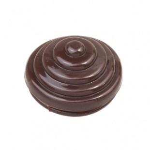 Заглушка для распределительной коробки цвет коричневый R-Z-22