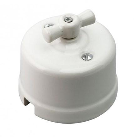 Выключатель Белый Retrika R-SW-11