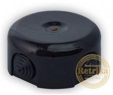 Распаячная коробка Черная D-90 Retrika PR-09002