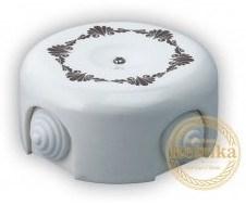 Распаячная коробка Декор коричневый №1 D-90 Retrika RR-0900001