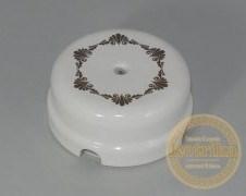 Распаечная коробка декор коричневый №1 D-78 Retrika RR-090101
