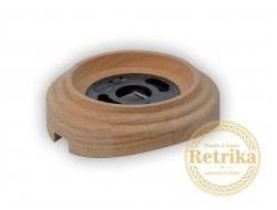 """Рамка 1-местная на бревно """"натуральное дерево"""" Retrika - фото 12392"""