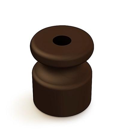Изолятор пластиковый ретро Коричневый