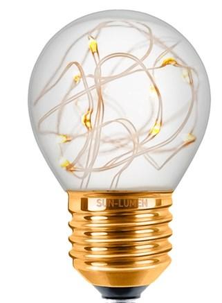 Лампа светодиодная для гирлянды, белый свет, Sun-Lumen 057-226