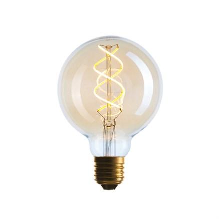 Лампа светодиодная G95 LED 5W SF-8, Golden, Sun-lumen 056-939