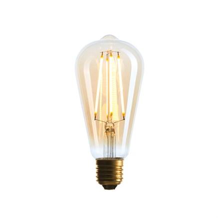 Светодиодная ретро лампочка ST64, Sun-Lumen 057-080