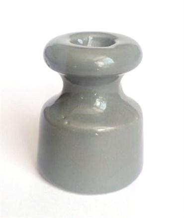 Изолятор керамический Ретро Серый для проводки IBLOTM-2429с