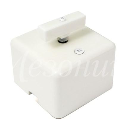 Выключатель ретро фарфоровый квадратный белый Мезонин GE80404-01 - фото 17105