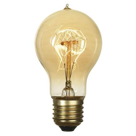 Лампа накаливания E27 60W 2700K прозрачная GF-E-719 - фото 30326