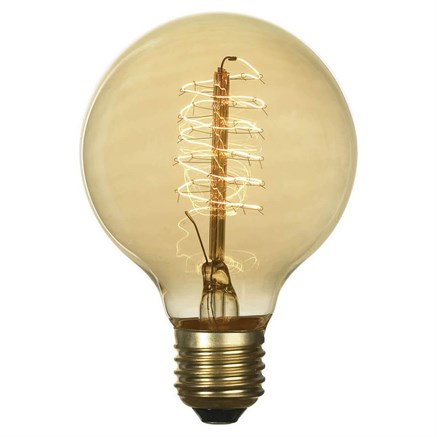 Лампа накаливания Е27 60W 2700K прозрачная GF-E-7125 - фото 30331