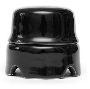 Распаячная коробка большая Черная Salvador - фото 4117