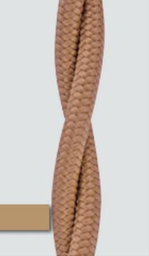 Коаксиальный кабель( 75 ОМ), двойной, Бежевый BIRONI  - фото 4721