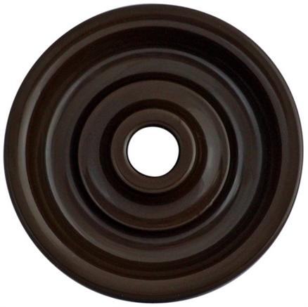 """Накладка для выключателя, цвет коричневый """"Шедель"""" Bironi  - фото 4840"""