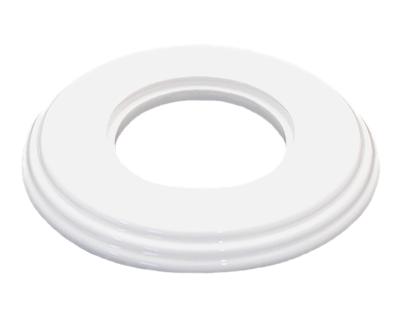 Рамка одноместная белая керамика Bironi - фото 4909