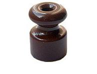 Изолятор керамический Коричневый Villaris - фото 5208