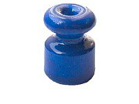 Изолятор керамический Синий Villaris - фото 5214