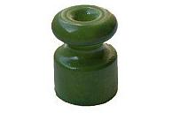 Изолятор керамический Зеленый Villaris - фото 5216