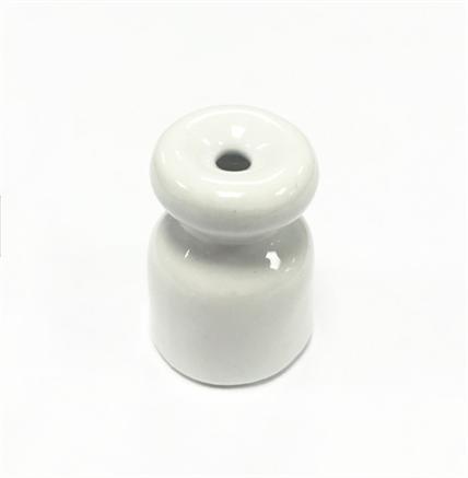 Кабельный изолятор Белый Salvador серия R - фото 5484