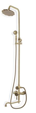 Душевая система бронза 10120d Bronze de Luxe - фото 5622
