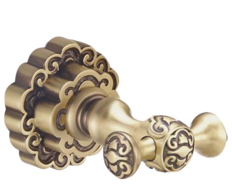 Крючок двойной К25205 Bronze de Luxe - фото 5681