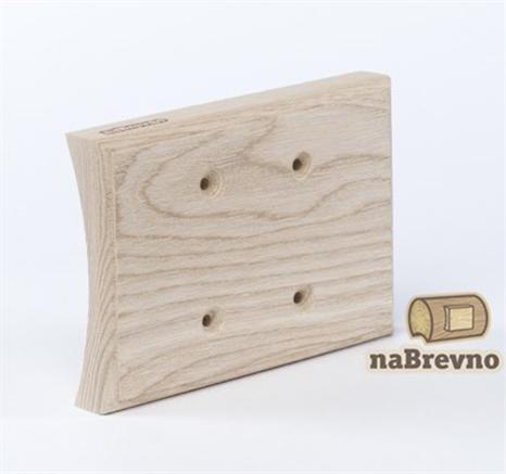 Универсальная накладка на бревно для сдвоенных механизмов naBrevno  - фото 6252
