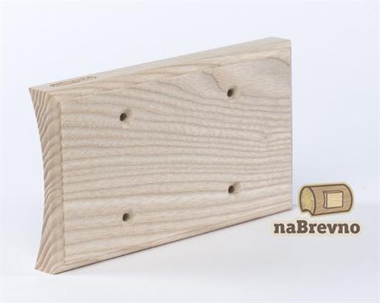 Универсальная накладка на бревно для двух механизмов naBrevno - фото 6254