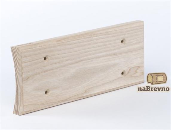 Универсальная накладка на бревно для 3-х механизмов naBrevno - фото 6259