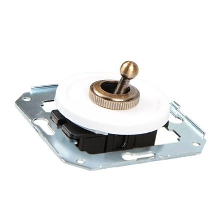 Выключатель тумблерный ретро  CL41 для внутреннего монтажа проходной Salvador - фото 6316