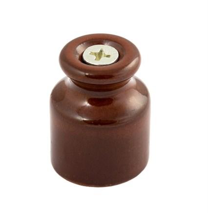 Изолятор фарфоровый Коричневый Мезонин - фото 6426