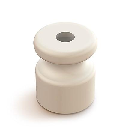 Изолятор пластиковый Белый Мезонин - фото 6450