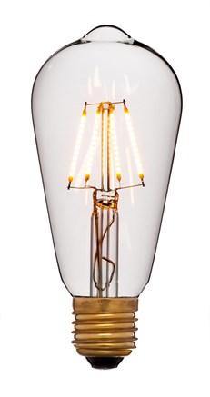 Лампа светодиодная ST64 2C4 - фото 6863