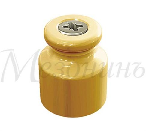 Изолятор фарфоровый Песочное Золото  Мезонин - фото 6880