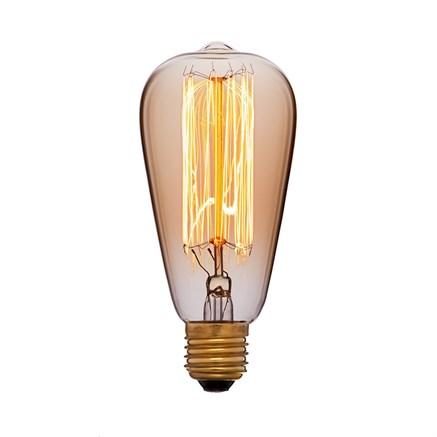 Лампа тонированная ST64 40W, Sun-lumen 051-910