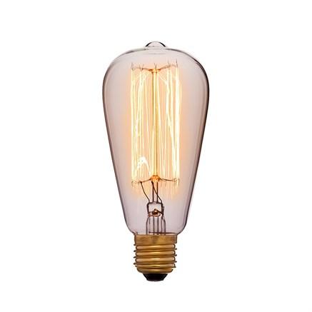 Лампа прозрачная ST64 60ВТ, Sun-lumen 053-242a