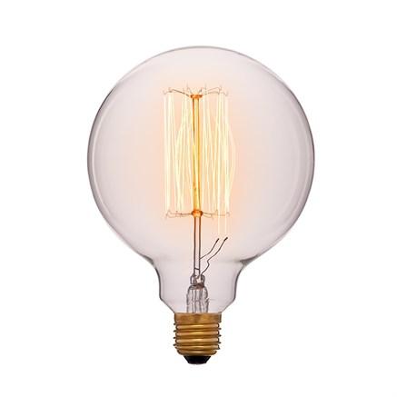 Лампочка тонированная G125 F2 40ВТ, Sun-lumen 052-016a