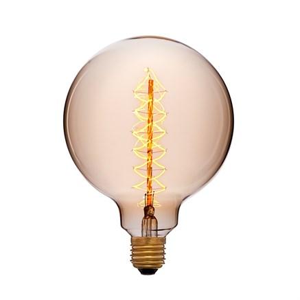 Лампочка тонированная G125 F5 40ВТ, Sun-lumen 052-030