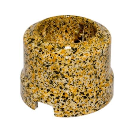 Розетка Золотой Гранит  Lindas - фото 7206
