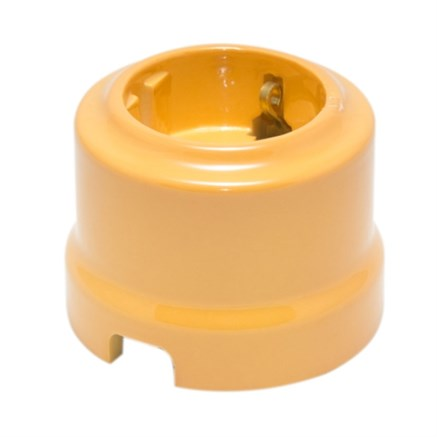 Розетка Песочное Золото Lindas 350-SG