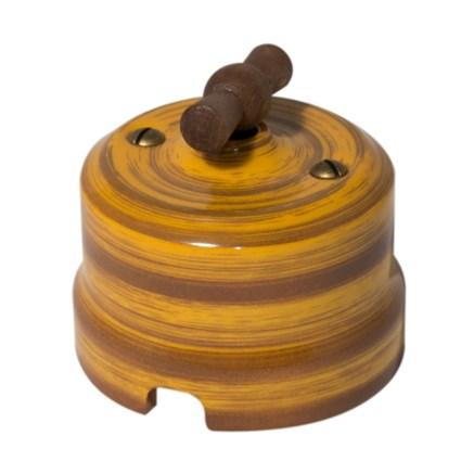 Выключатель Императорский бамбук Lindas - фото 7220