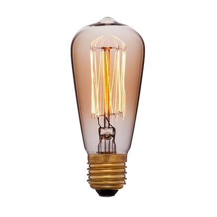 Лампа тонированная ST48 F2 25W E14, Sun-lumen 053-587